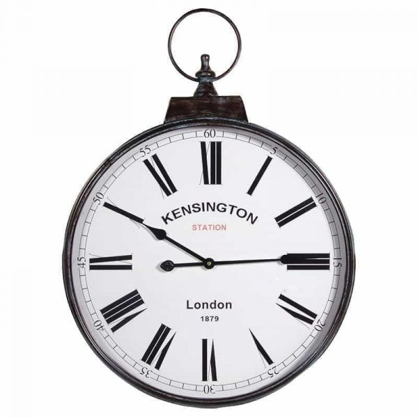 Large Kensington Station Clock