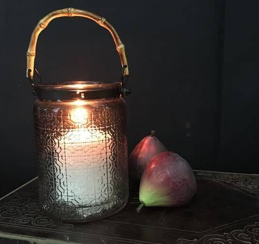 Bamboo Candle Candle Lantern