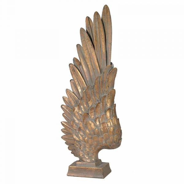 Gold Angel Wing