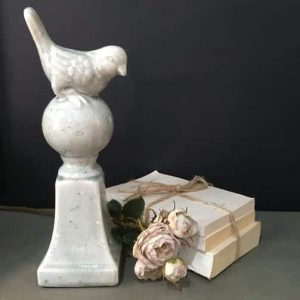 Ceramic Bird on Ball