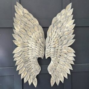 Large Feathered Angel Wings