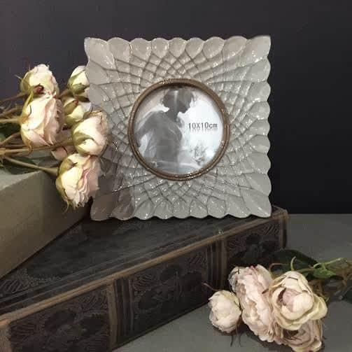Grey Textured Frame