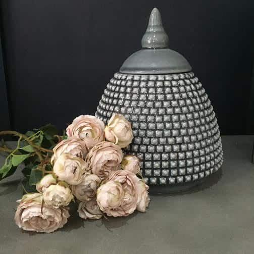 Bobble Lidded Jar