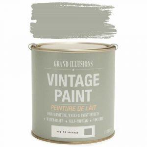 Vintage Paint 06 SHUTTER 1 Litre
