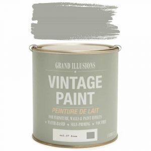 Vintage Paint 07 ZINC 1 Litre