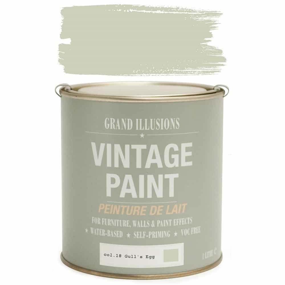 Vintage Paint 18 GULL'S EGG 1 Litre