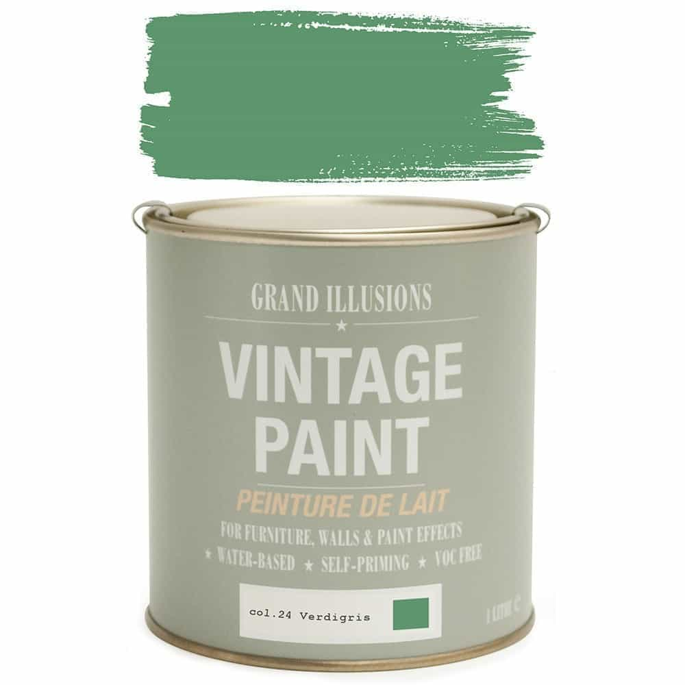 Vintage Paint 24 VERDIGRIS 1 Litre