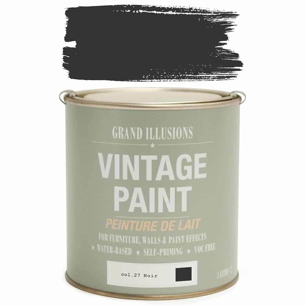 Vintage Paint 27 NOIR 1 Litre
