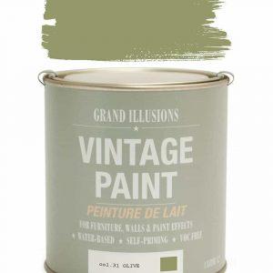 Vintage Paint 31 OLIVE 1 Litre