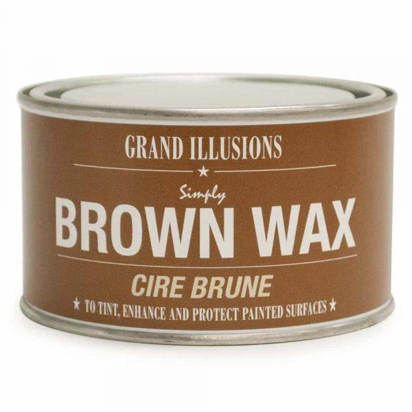 BROWN WAX 400G