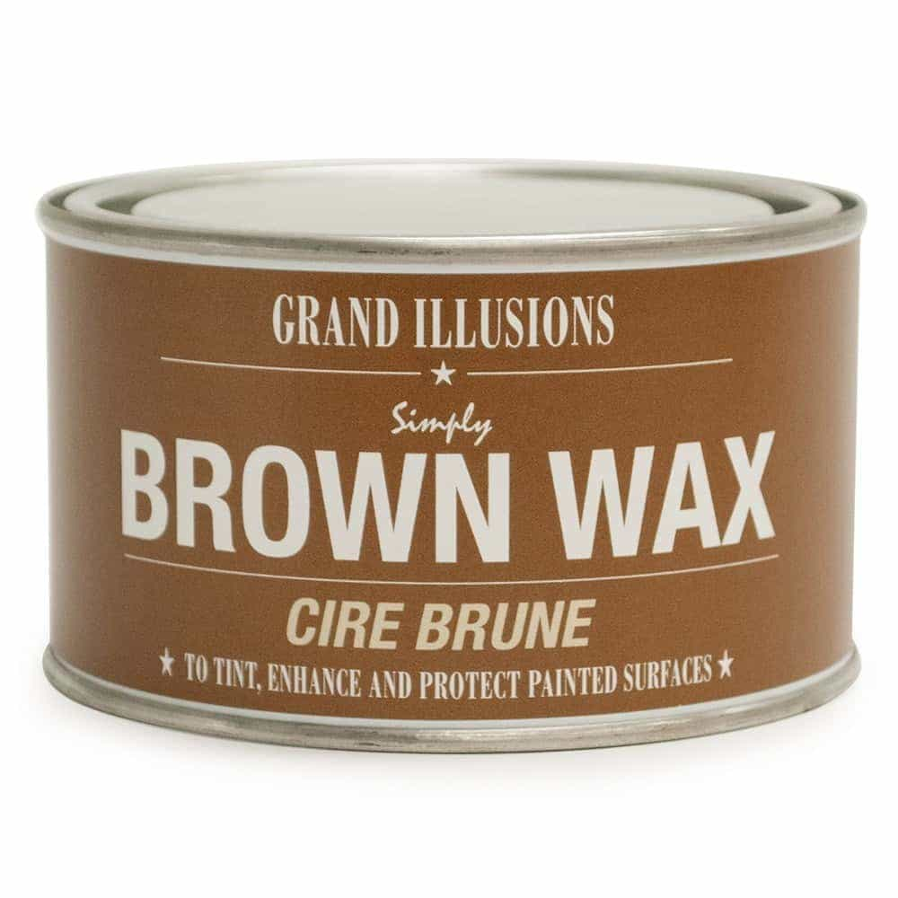 BROWN WAX 400G