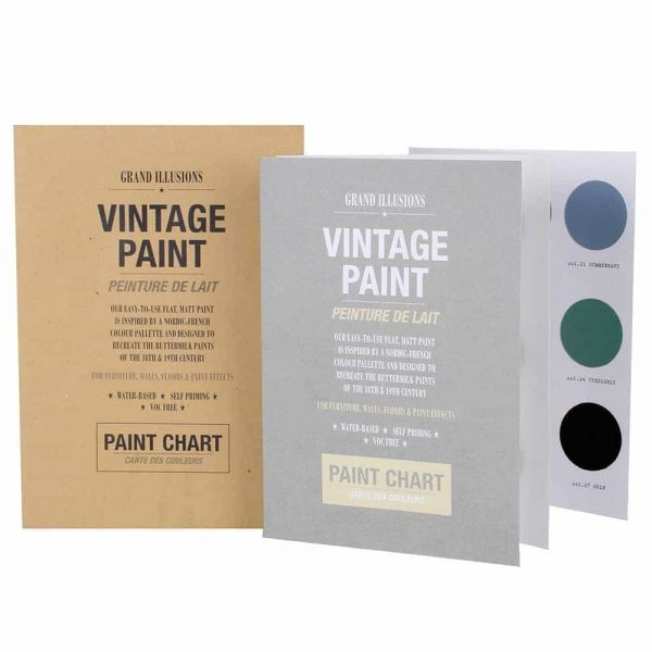 HAND PAINTED COLOUR CHART
